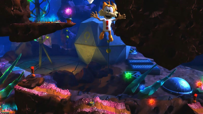 Bubsy: The Woolies Strike Back revives the feline mascot after 21 years