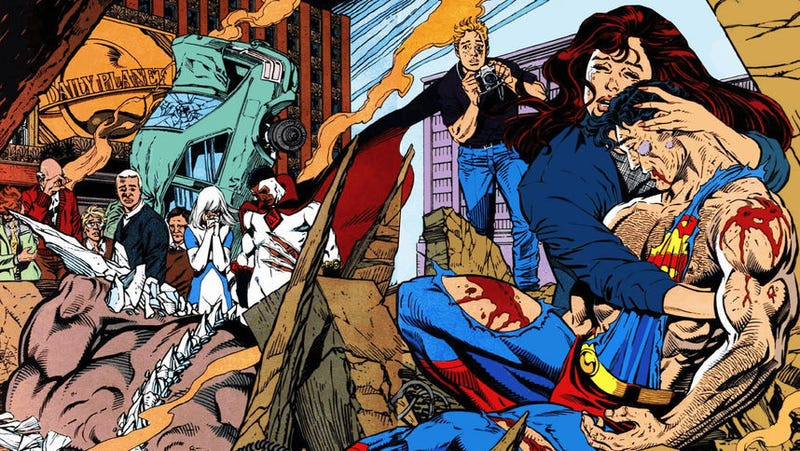 Illustration for article titled Superman died so Lois & Clark: The New Adventures Of Superman could live