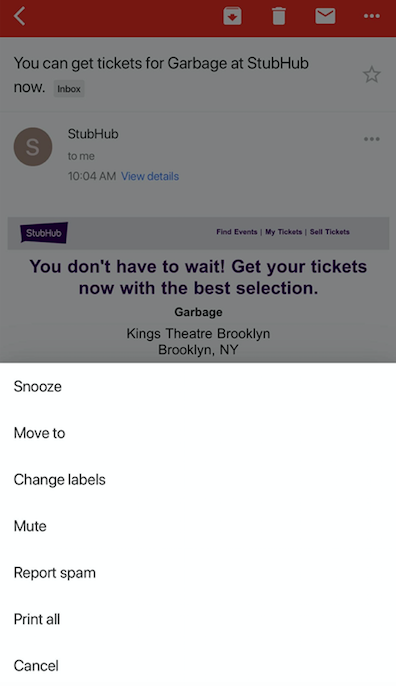 How to Snooze Emails in Gmail for iOS and Android