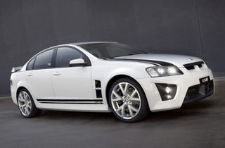 Illustration for article titled HSV 40th Anniversary GTS Unveiled in Sydney