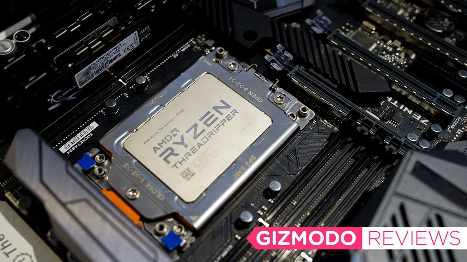 AMD Ryzen Threadripper 2950X Review: It's Faster Than Intel