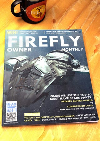 Illustration for article titled Joss Whedon teases us all with this amazing Firefly Magazine