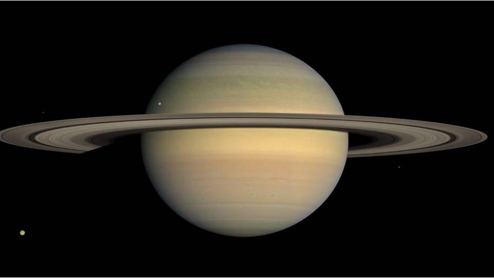 El increíble documental de Saturno con 1 millón de fotos reales