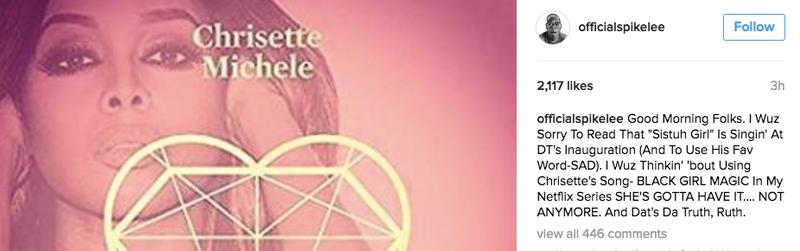 Spike Lee via Instagram