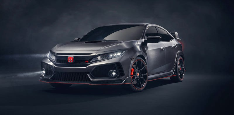 Illustration for article titled Mother Of God: The Next Honda Civic Type R Looks Absolutely Insane