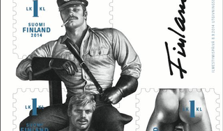 Illustration for article titled Finland's New Stamps Are Really Gay