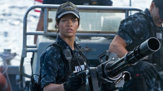 Illustration for article titled First Look: Rihanna In Battleship