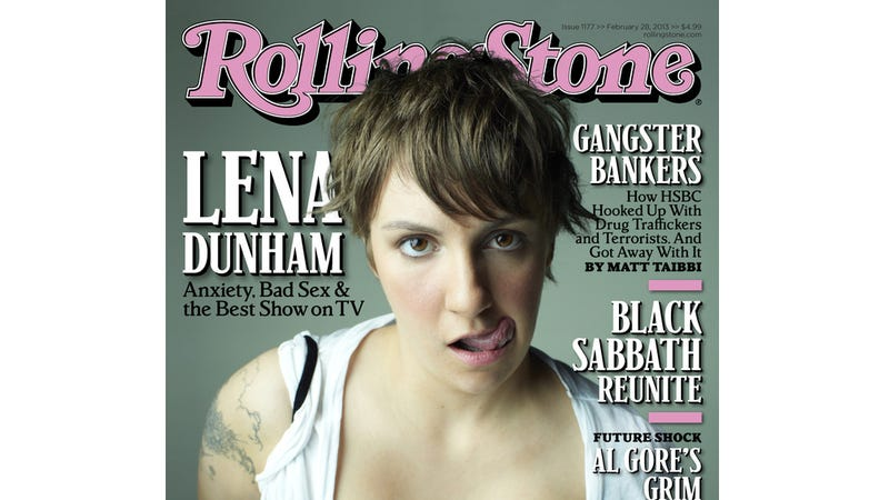 Illustration for article titled Lena Dunham Lands Cover of Rolling Stone, Discusses Her 'Childhood Fear of Sex'