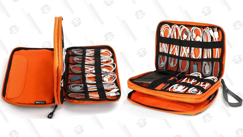 Jelly Comb Cable Organizer   $9   Amazon   Promo code FMN7J3YF. Orange only.