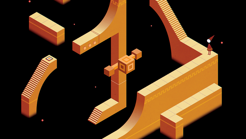 Illustration for article titled Monument Valley Plus Journey Is A Match Made In Heaven