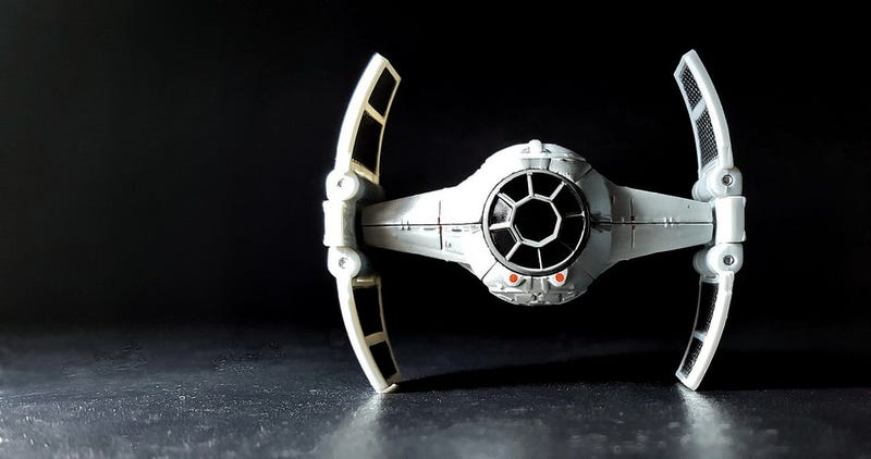 an advanced tie fighter