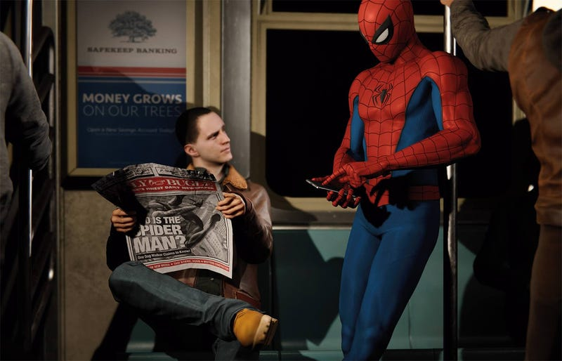 Illustration for article titled A Spoiler-Free Primer On The Characters In The New Spider-Man Game