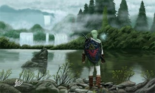 Illustration for article titled You Won't Believe How This Zelda Picture Was Made