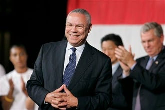 "Illustration for article titled Colin Powell: Obama Would Be A ""Transformational President"""