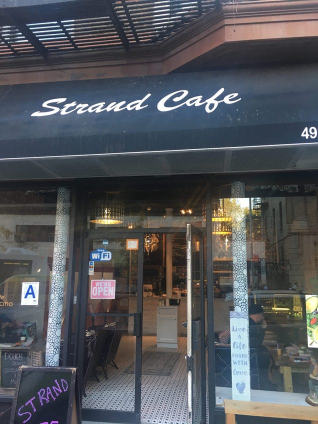 The Strand Cafe at 492 Nostrand Avenue in the Bedford-Stuyvesant neighborhood of Brooklyn, N.Y. (Oma Holloway via Facebook)