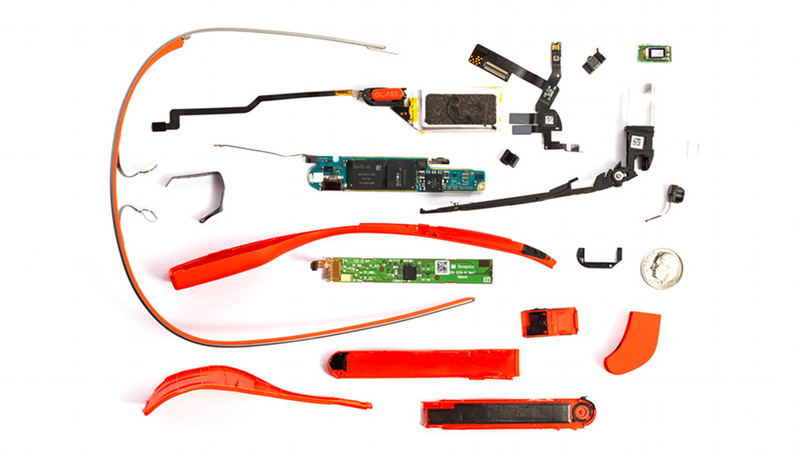 Illustration for article titled Google Glass Teardown:  Oddly Simple