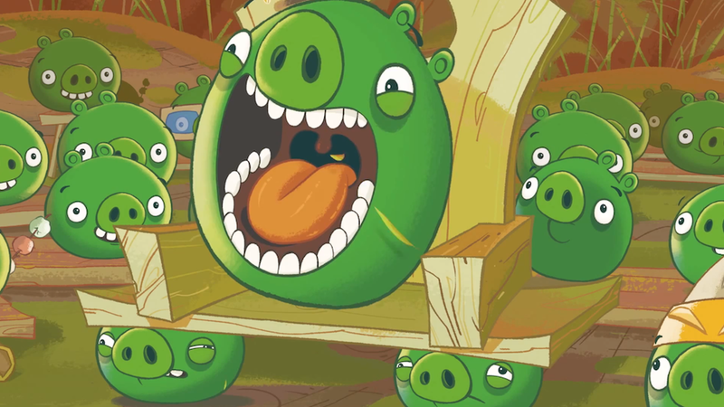 Illustration for article titled Angry Birds  Creator Wants to Gobble Up Other Studios