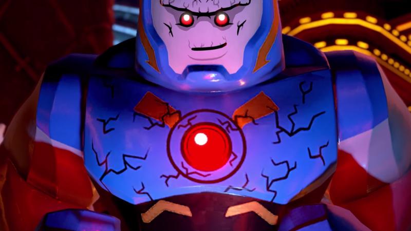 Lego Darkseid is a very big, very mean boy.