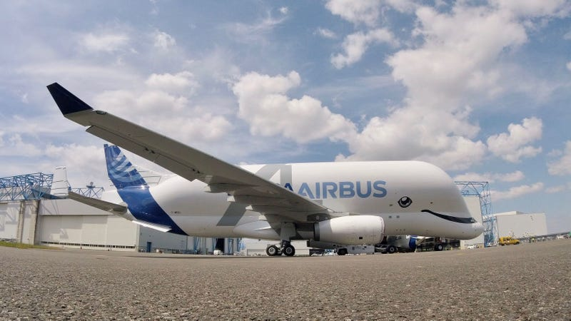 The world's friendliest plane, the BelugaXL. All photos credit Airbus