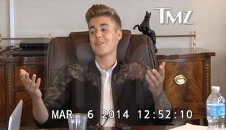 Illustration for article titled Justin Bieber egy igazi seggarc, és nem tudom levenni róla a szemem