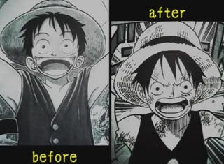Illustration for article titled How One Piece Characters Have Evolved
