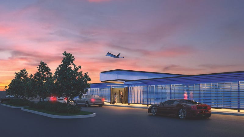 Illustration for article titled LAX's New Private Luxury Terminal For The Rich Is The Most Obnoxiously LA Thing Ever