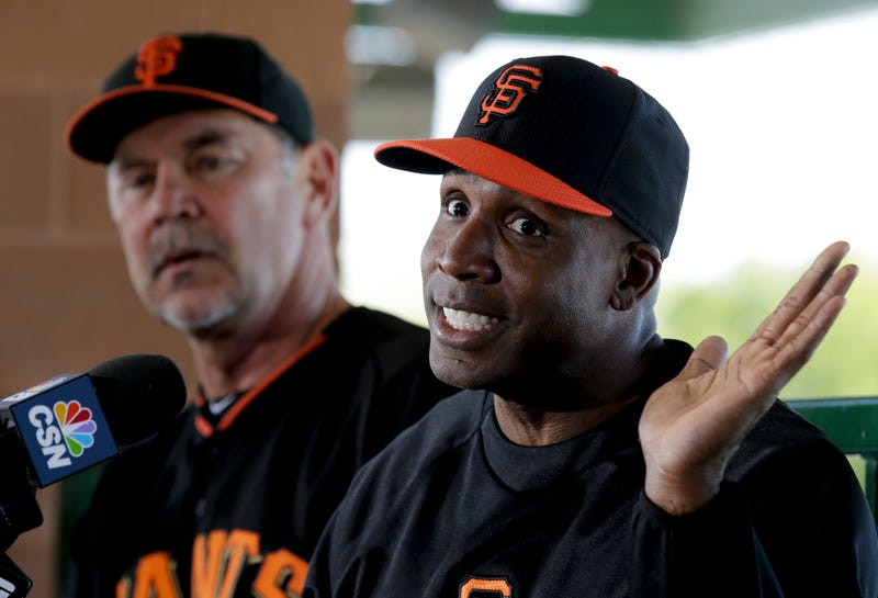 """Illustration for article titled Barry Bonds Says He Should Be In The Hall Of Fame """"Without A Doubt"""""""
