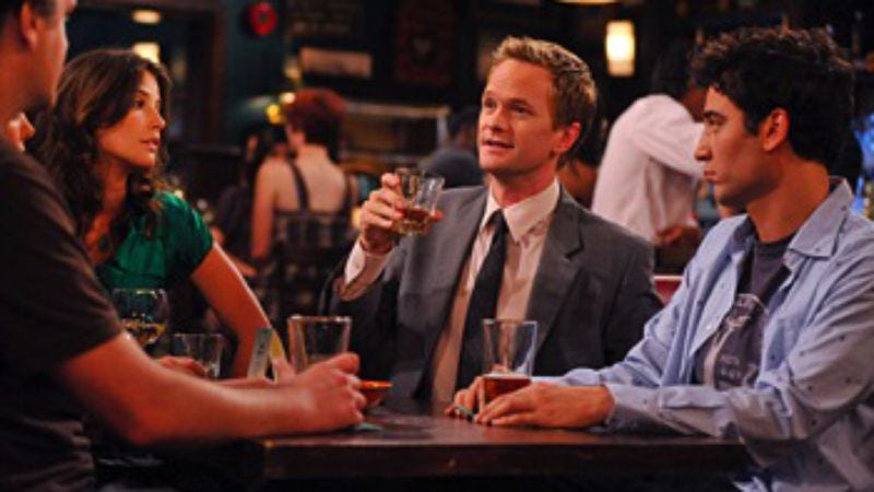 """Illustration for article titled How I Met Your Mother: """"Do I Know You"""""""