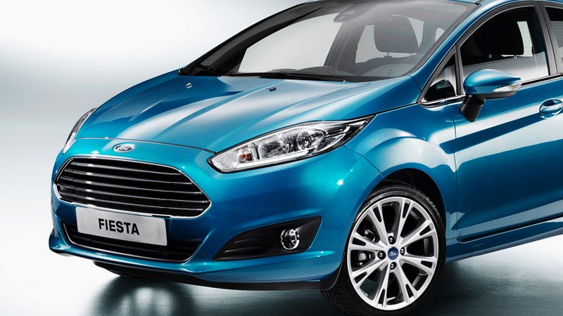 Illustration for article titled Ford Is Going To Cram Its 1.0 L 3-Cylinder Into The 2014 Fiesta