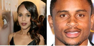 Kerry Washington (Kevin Winter/Getty Images); Nnamdi Asomugha (Maury Phillips/Getty Images Entertainment)