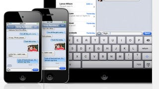 Illustration for article titled Apple Thumbs Its Nose at Carriers By Launching iMessage Without Warning