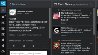 Illustration for article titled Sign Out of TweetDeck: Vulnerability Leaves User Accounts Compromised