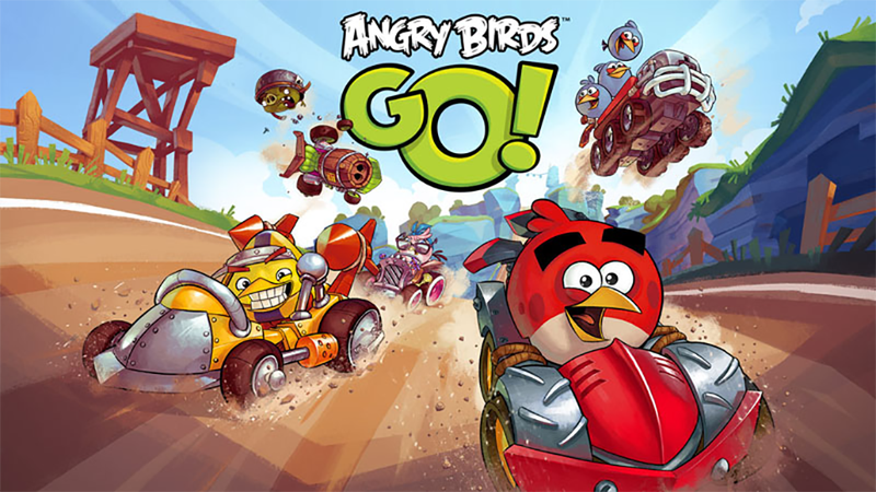 Illustration for article titled Angry Birds Go! Starts Its Engines