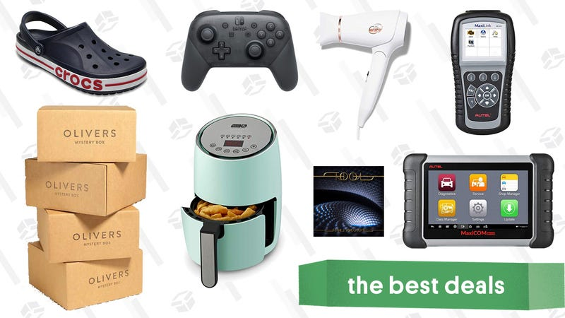 Illustration for article titled Thursday's Best Deals: DASH Air Fryer, Autel Car Tools, Mountain Hardwear, and More