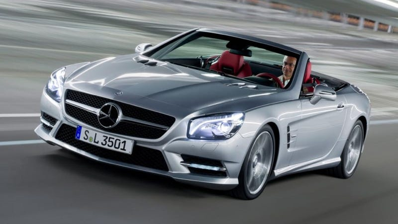Illustration for article titled 2013 Mercedes-Benz SL: Photos
