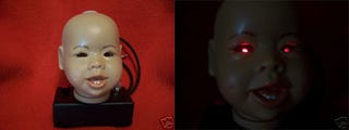 Illustration for article titled Dismembered Baby's Head Theremin is One Badass Musical Instrument