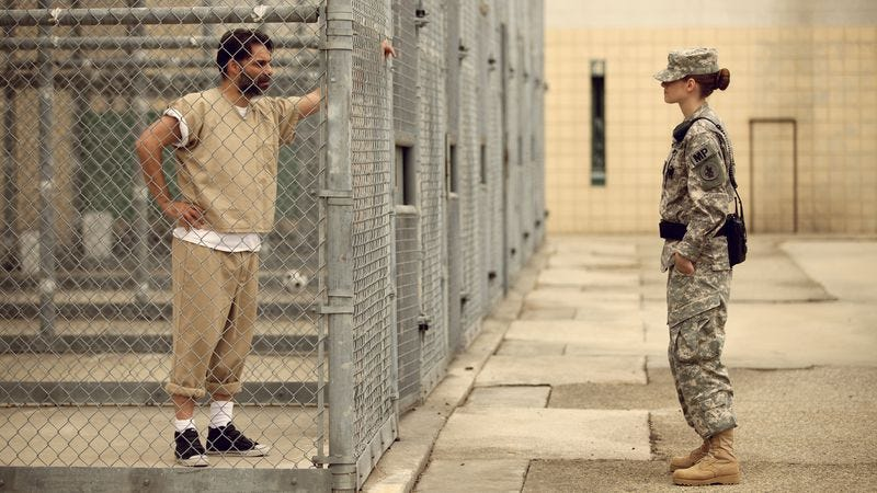 Illustration for article titled Kristen Stewart mans Guantanamo Bay in the politically evasive Camp X-Ray