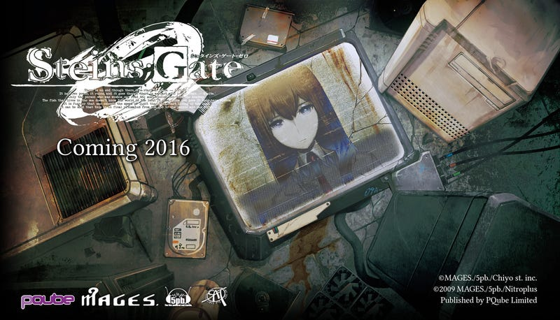 Illustration for article titled Steins; Gate 0 English Localization Confirmed for PS4/PSVita