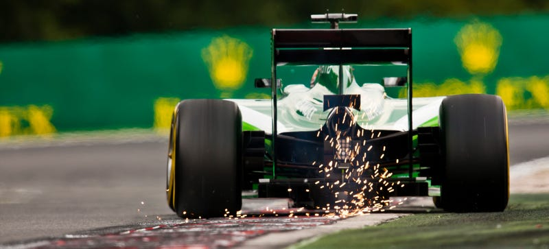 Illustration for article titled Now's Your Best Chance To Buy A Caterham F1 Car (Lightly Used)