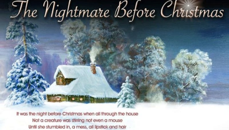 Illustration for article titled Police Release Rape-Themed Version of 'The Night Before Christmas'