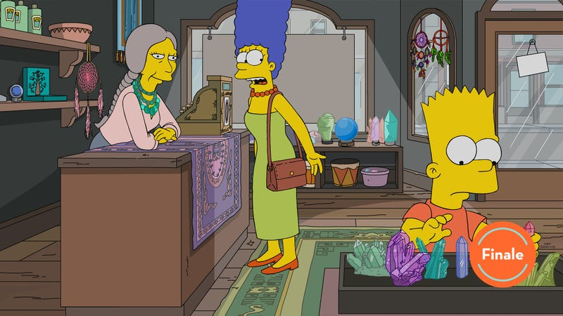 Illustration for article titled Marge finds only spurious enlightenment as The Simpsons closes out its 30th season