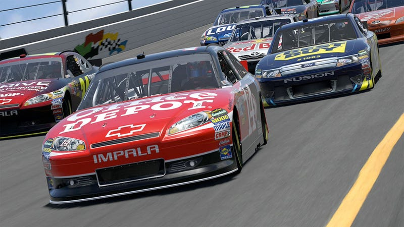 Illustration for article titled Gran Turismo 5 Next Big Update Adds More NASCAR, More Interiors and Cuts Load Times