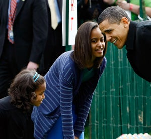 Illustration for article titled Obama: Secret Service Will Make My Daughters' Future Suitors Scared