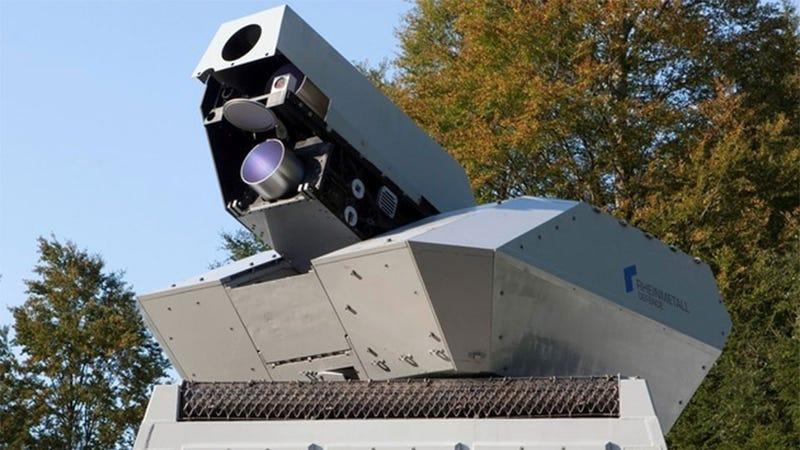 Illustration for article titled German Scientists Have Built A Real, Functional Laser Turret