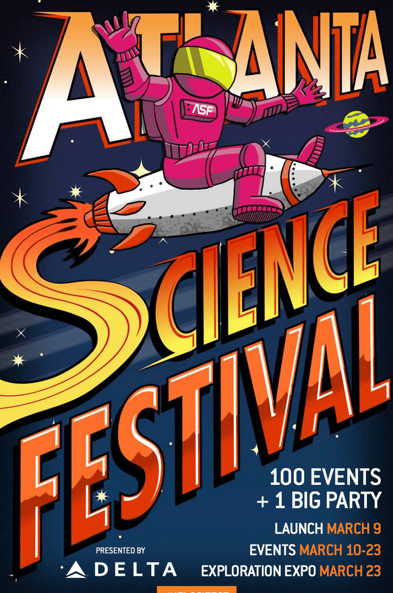Illustration for article titled Atlanta Science Festival Expo Today