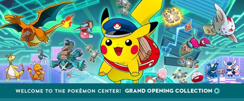Pokemon Center Store Is Now Open