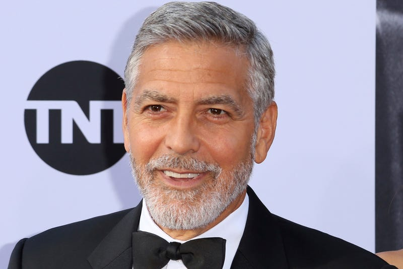George Clooney looks more like the Monopoly Man than I remember.