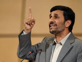Illustration for article titled Ahmadinejad wants to be the first Iranian in space
