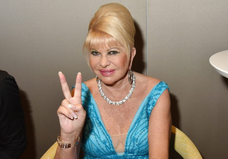 Ivana Trump sets sights on diplomatic post in Czech Republic