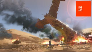 Illustration for article titled Uncharted's Art Director Can Also Draw Cool Spaceships